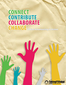 Connect Contribute Collaborate Change: Online Volunteering In Action